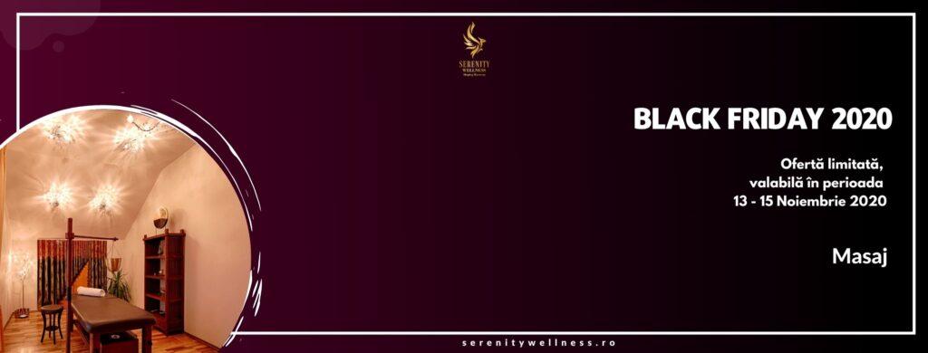 Oferta Black Friday 2020-Masaj