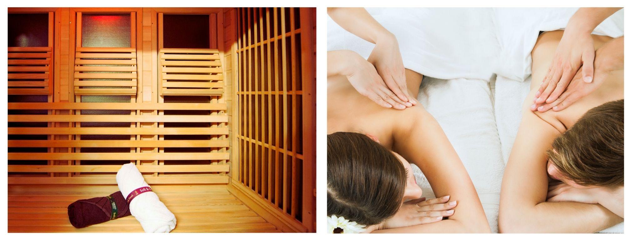 oferta speciala sauna-masaj de cuplu