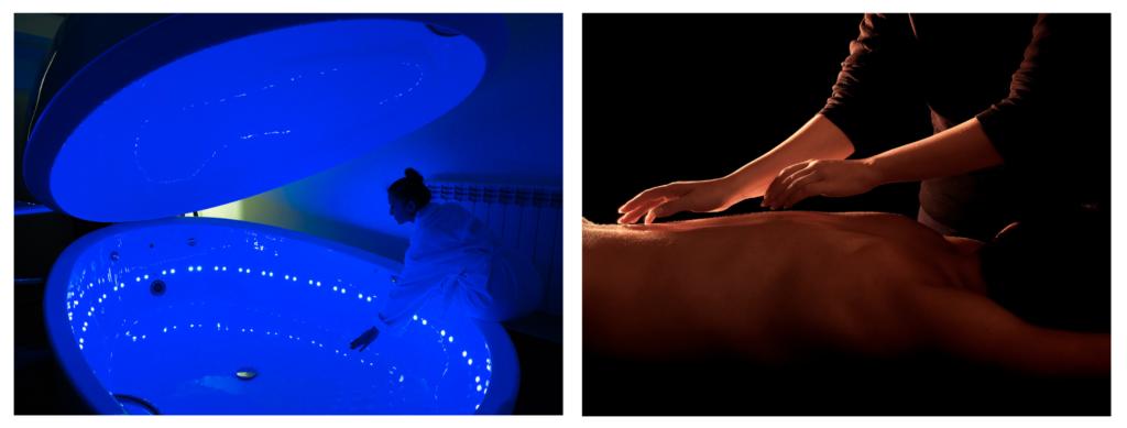 Pachet special-Terapie prin plutire si masaj de relaxare